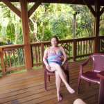 Photo de Sundancer Cabanas Roatan Beach Front