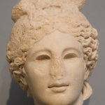 Getty Villa, Head of Apollo, Roman, A.D. 175-200