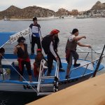 Pirates pirating our pirate ship.