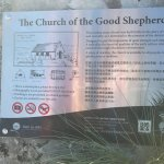 Information board of the church