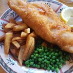 Amazing gluten free battered Fish & Chips! Thank You Siobhan