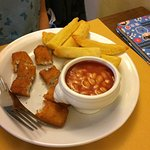 Lovely adult meals, freezer fish fingers