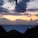 Sunset View from Mana Nui Front Porch