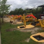 ALL these diggers were out of service - PITY