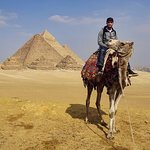 The camel rides to the pyramids are not to be missed - albeit 'touristy'