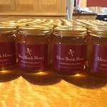 Our very own Mere Brook honey! Delicious at breakfast.