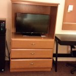 Fridge, Microwave, TV