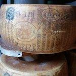 Parmigiano-Reggiano aged 24-36 months - yum!