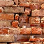Original brick from our buildings' construction decades ago!