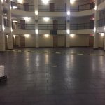Lobby area still under construction