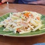 Seafood salad 2017