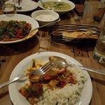 Delicious kichdi and raitha