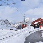 Myrdal Station.
