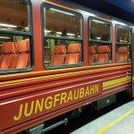 The cog rail train