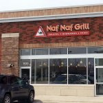 front of & entrance to Naf Naf Grill