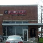 front of & entrance to Chipotle Mexican Grill
