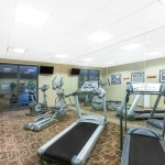 Fitness Center, open 24/7.
