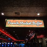 French Market Buffet Foto