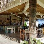 The restaurant where we park in Sayulita