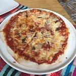 La pizza y el lugar