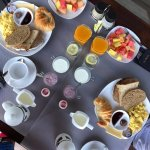 The Puncak - epic breakfast