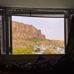 View from bed in he morning! AMAZING!