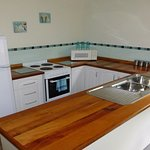 Kitchen in Casuarina Cottage at Eagles Rise, Sisters Beach