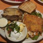 pan fried cod was wonderful!