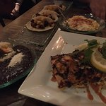 Red Snapper was excellent