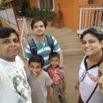 Matheran at hotel Wood land with family