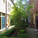 The courtyards would have been put to use as kitchen gardens in the past