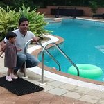 Pool Pic with my daughter