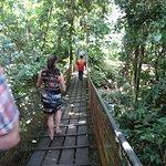 Bridge to start the tour