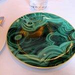 Plate, Seven Park Place