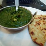 Corn Palak - yummy veg curry