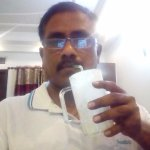 Welcome drink - Lassi enjoying by reviwer