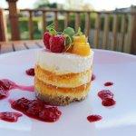 Mango & Passion Fruit Cheesecake!
