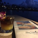 Great Mai Tai, delicious surf & turf. Very good service both at checkin & Erica, our server.  St