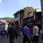 The vicinity of Coffee house on the Mall,Shimla.