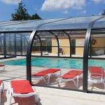 piscine couverte et chaufée du 1ermai au 15 septembre