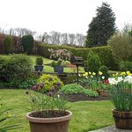 View from the Garden Room in Spring