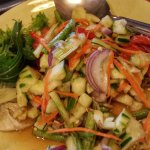 spicy cucumber salad