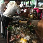 Adaman Grill--a fantastic selection of fresh fish