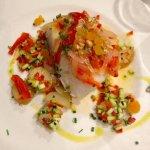 Bacalao et légumes