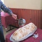 Flambage: omelette norvégienne