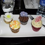Bloom Cafe- Cupcakes are too pretty to eat, too delicious not to!