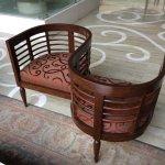 Twin chair in main lobby