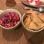special request by me kids-homemade chips that were the best I had ever tasted