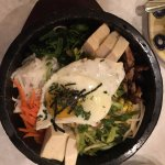 Dol-Sot Bibimbap with tofu and brown rice
