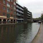 Start of the Canal walk from Camden market